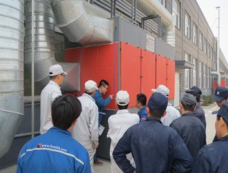 力维环保定期为客户提供设备培训服务