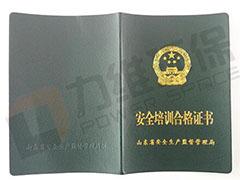 安全培训合格证书——郭冬芝
