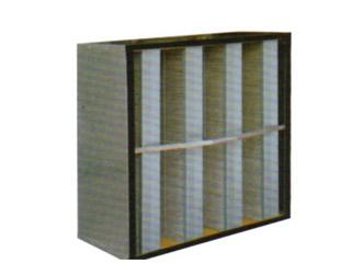 方框式无隔板过滤器(V型)